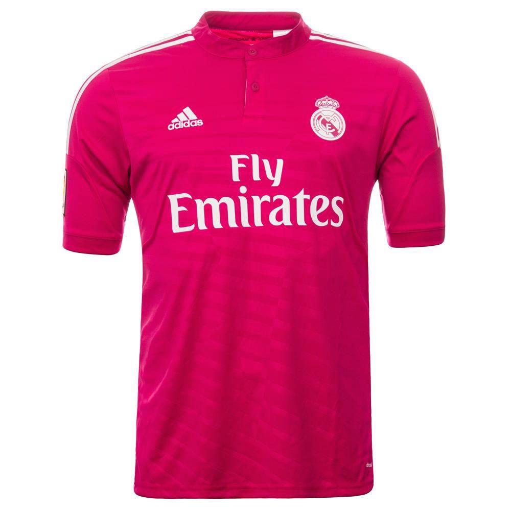 camiseta real madrid roja