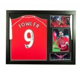 Футболка с автографом Fowler Signed Shirt (Framed)
