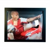 Бутса в автографом Тьерри Анри Henry Signed Boot (Framed)