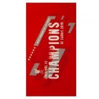 ≡ Полотенце Ливерпуль Champions Of Europe Towel | купить в Москве, Санкт-Петербурге, России - Интернет-магазин футбольной атрибутики Fanmagazin.ru
